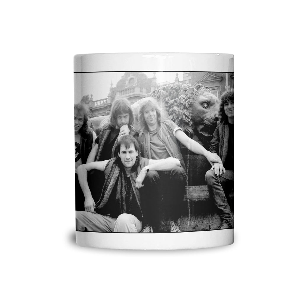 Marillion, band portrait, 1983, AP Mug