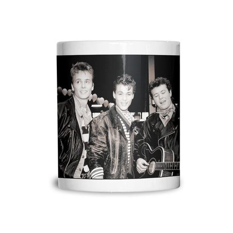 A-ha, band portrait, 1988, AP Mug