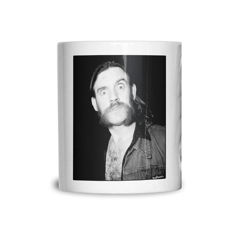 Lemmy at St Moritz Club Soho 1985 Mug