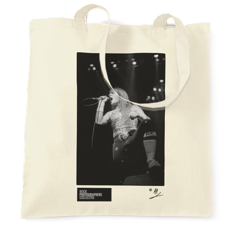 Bruce Dickinson, Iron Maiden live AP Tote Bag