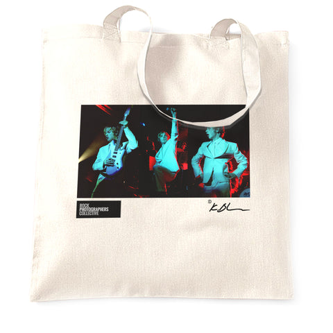 Beck - live multi image Tote Bag