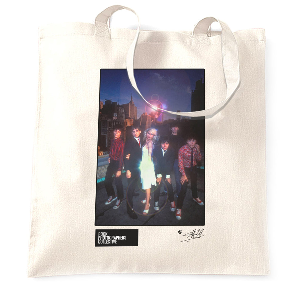 Blondie Rock Tote Bag