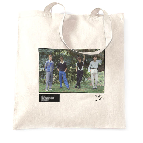 The Skids group location shot AP Tote Bag