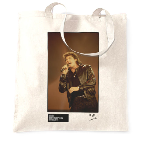 David Hasselhoff live in Antwerp AP Tote Bag