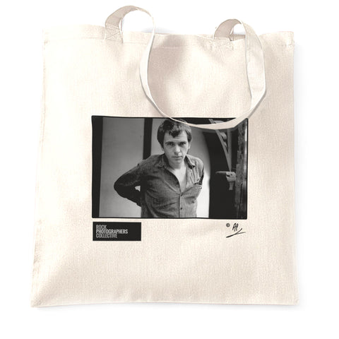Peter Gabriel b&w portrait AP Tote Bag