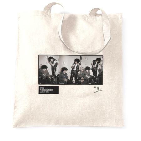 The Cure, backstage in Berlin, 1982, AP Tote Bag