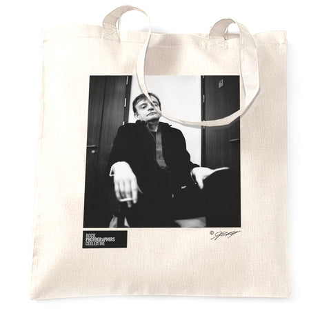 Mark E. Smith, The Fall, June 2001 (AC) Tote Bag