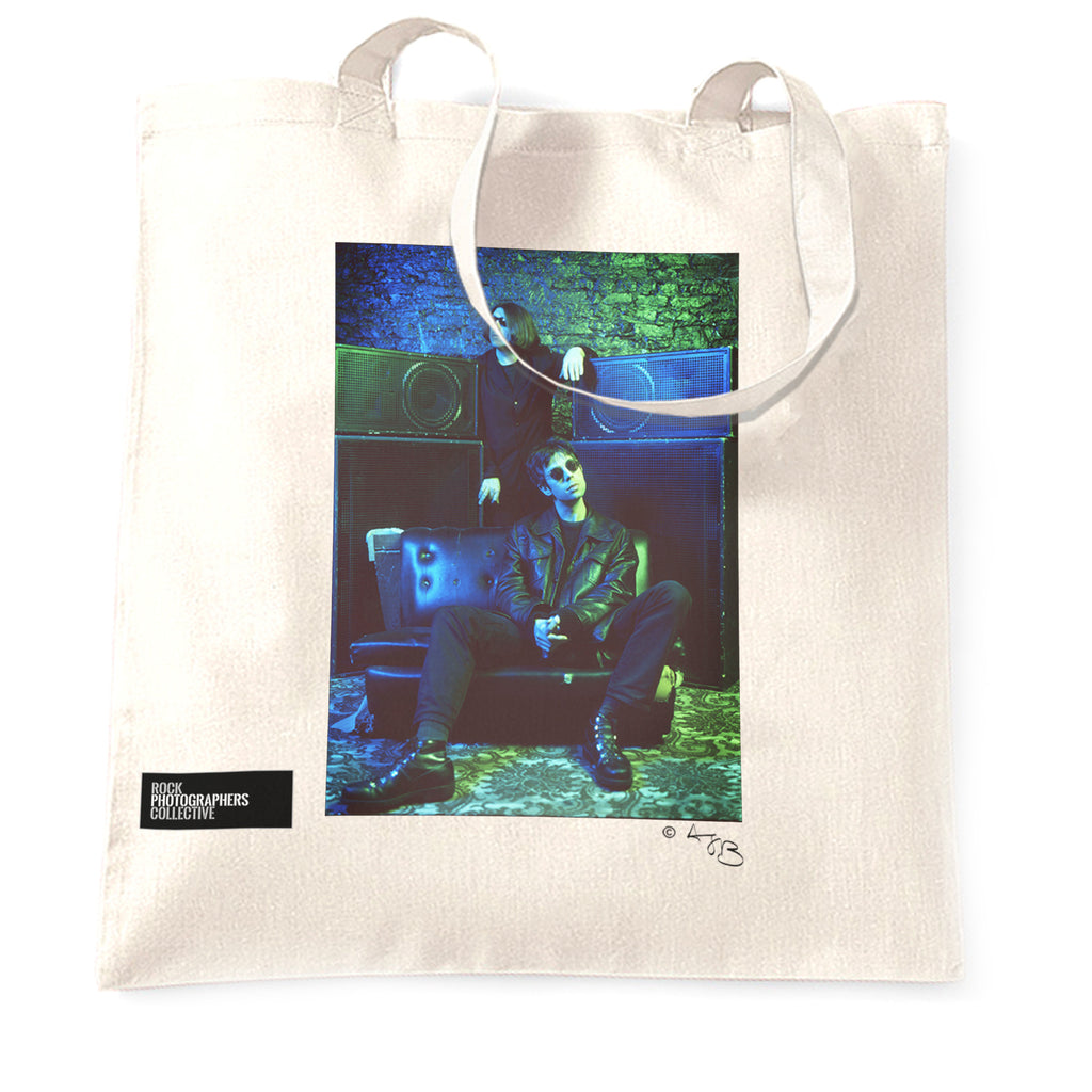 Echo and the Bunnymen Tote Bag