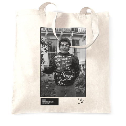 Jello Biafra of The Dead Kennedys (1) 1981 Tote Bag