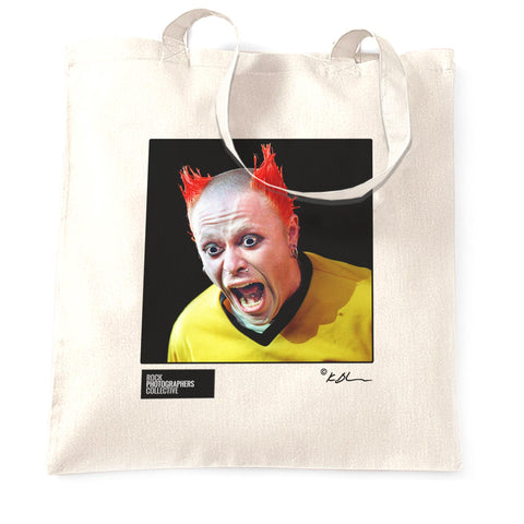 The Prodigy live - Keith Flint close up Tote Bag