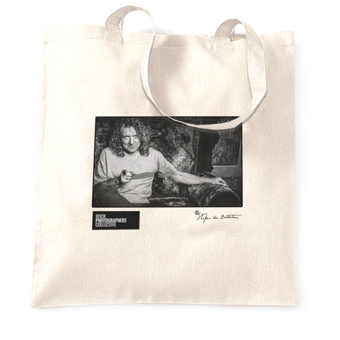 Robert Plant, London, 2002 (SdB) Tote Bag
