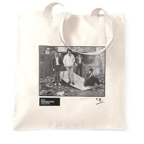 Echo and the Bunnymen Birmingham 1980 Tote Bag