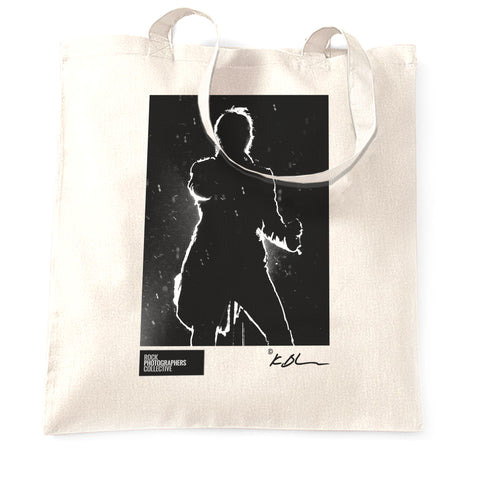 David Bowie live silhouette Tote Bag