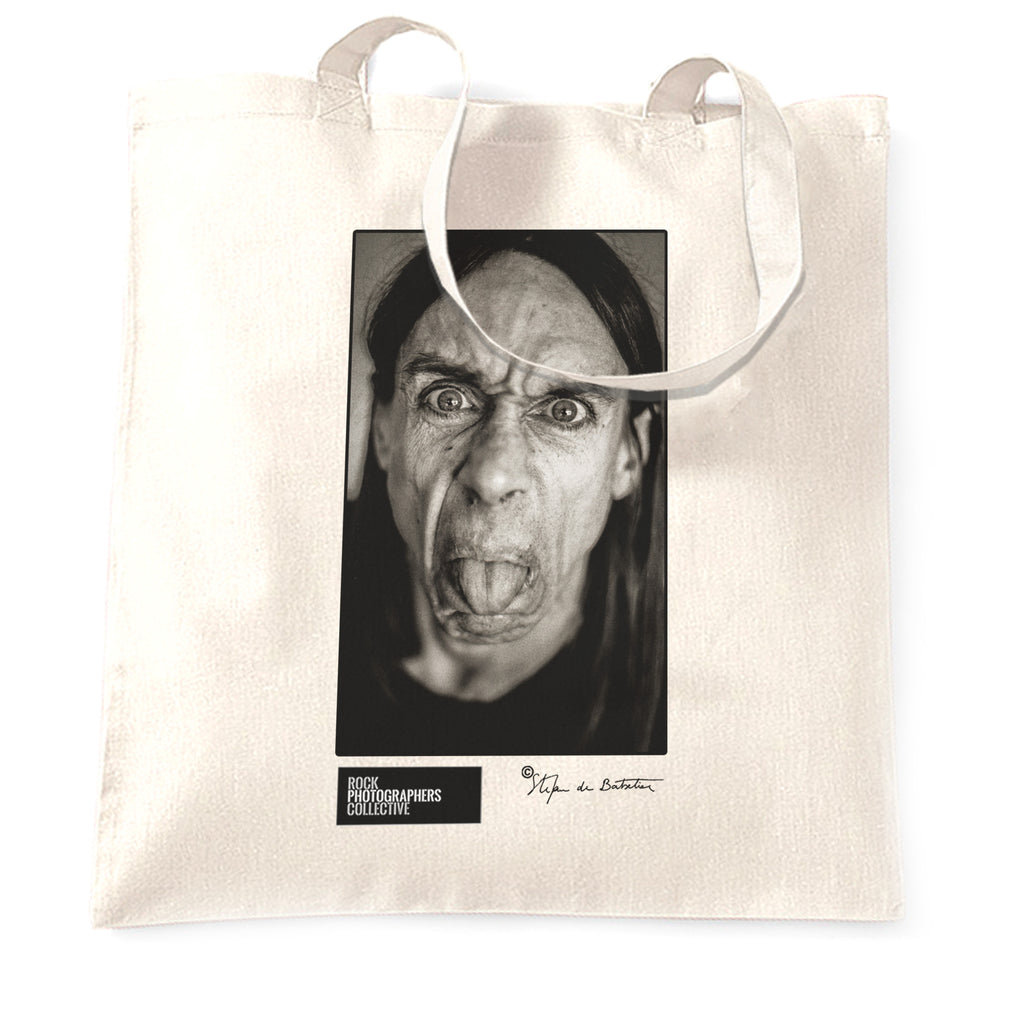 Iggy Pop, close-up, London, 1993 (SdB) Tote Bag