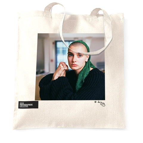 Sinead O'Connor (2) Tote Bag. Close up. Colour.