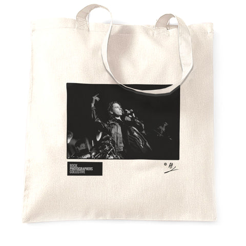 Michael Hutchence live (2)1985 AP 00445 Tote Bag