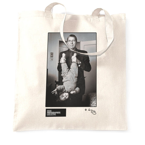 Leonard Cohen in London, 1993, TB Tote Bag