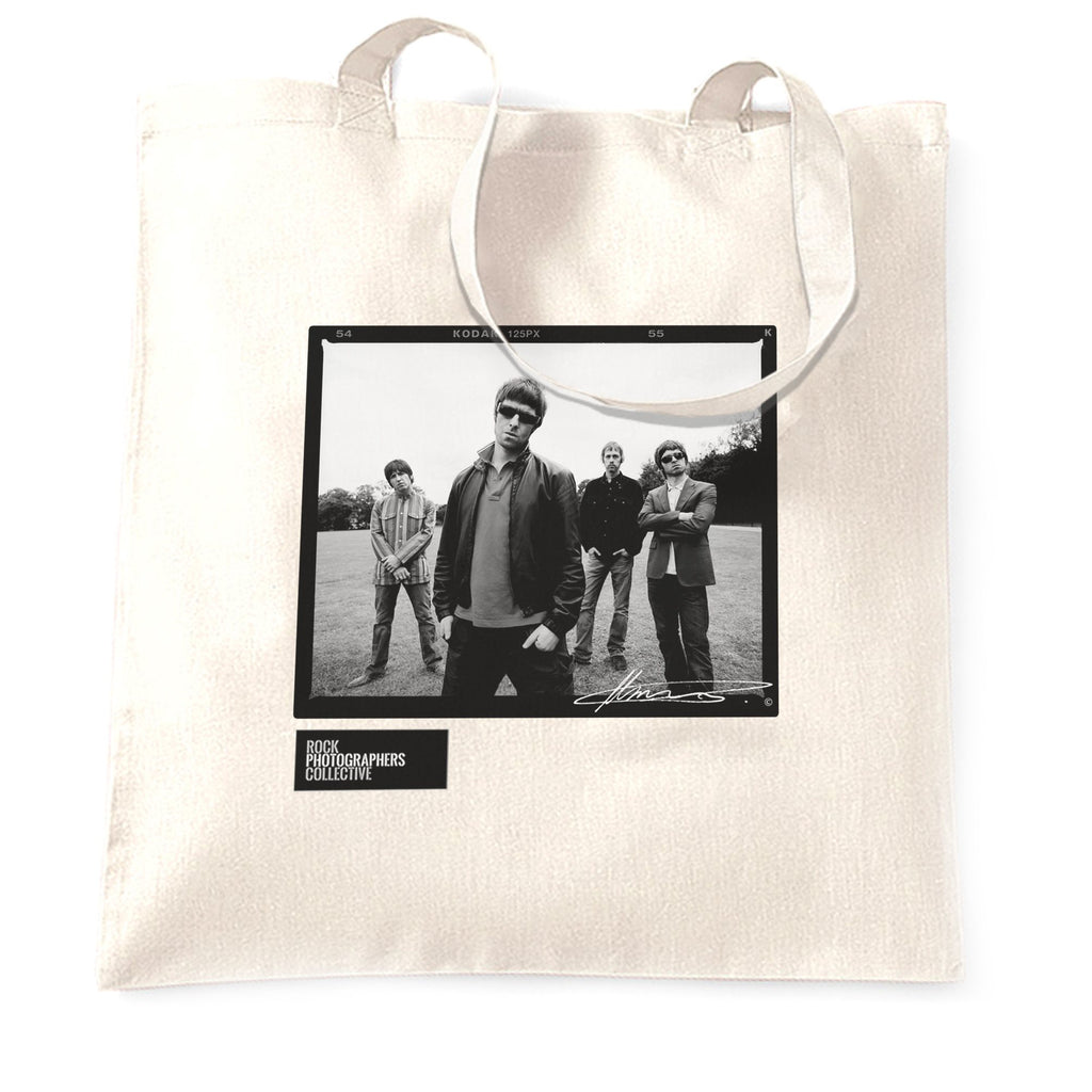 Oasis, location shoot, London, 2005, MRW Tote Bag