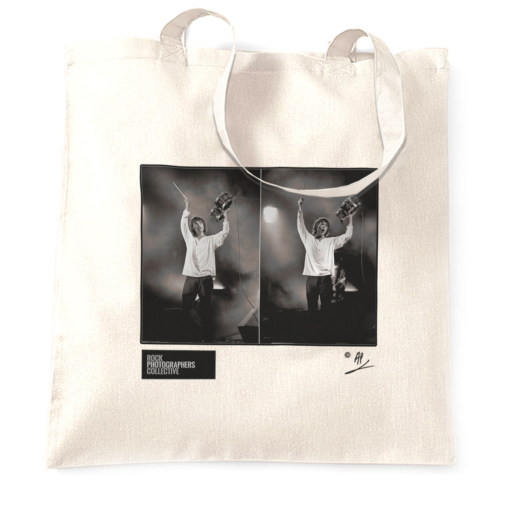 Ian Brown, Stone Roses live, Spike Island AP Tote Bag