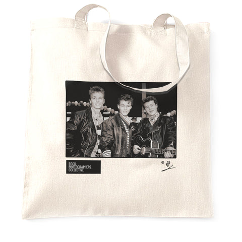 A-ha, band portrait, 1988, AP Tote Bag