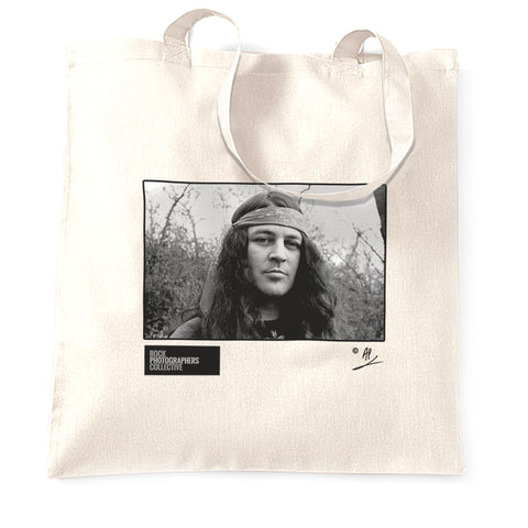 Ian Gillan location portrait AP Tote Bag