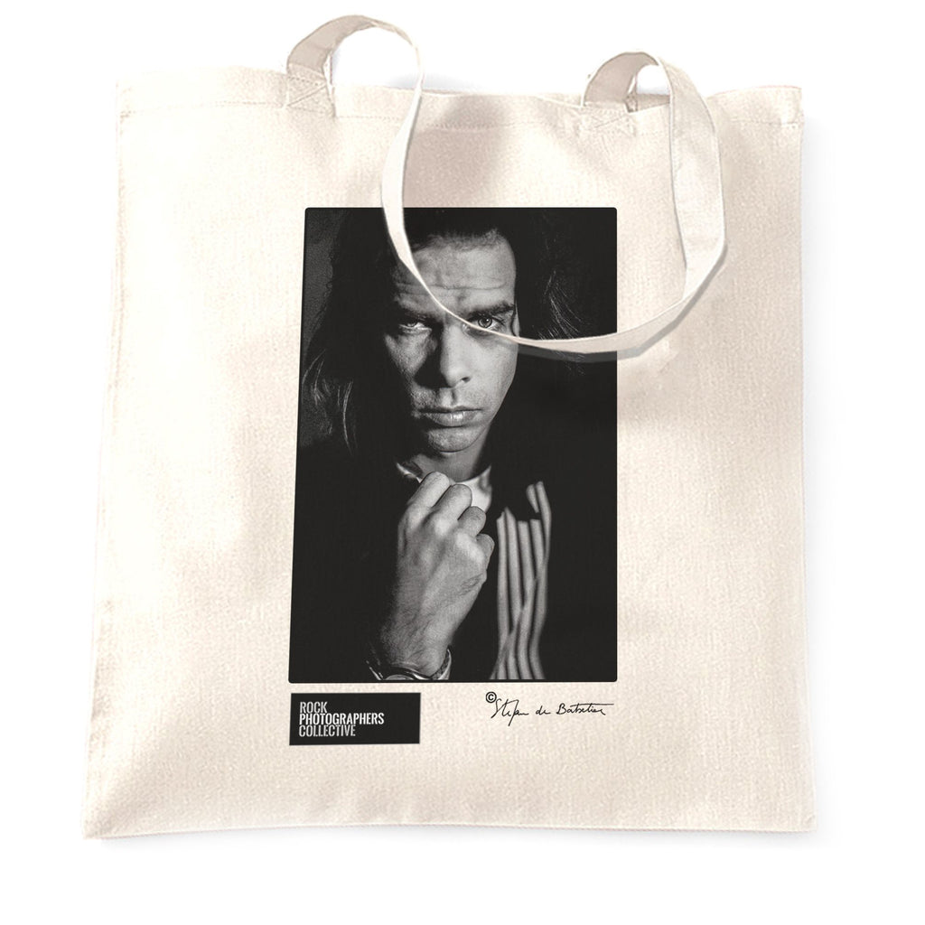 Nick Cave portrait (SdB) Tote Bag