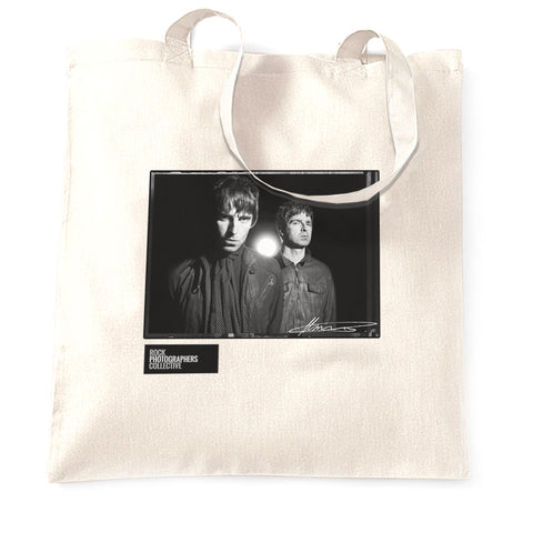 Liam & Noel Gallagher, Oasis, 2008, MRW Tote Bag