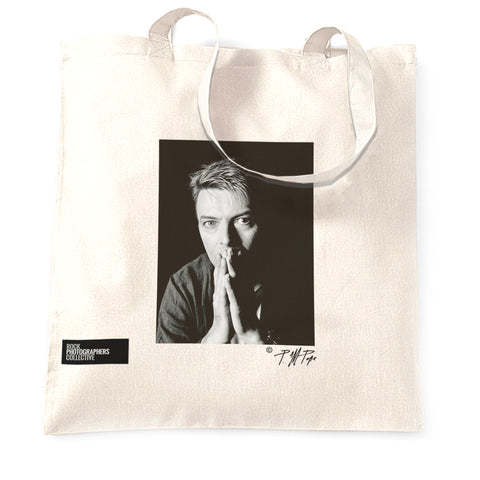 David Bowie Rock Tote Bag