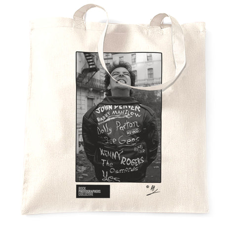 Jello Biafra of The Dead Kennedys (2) 1981 Tote Bag
