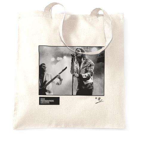 Duran Duran live in Antwerp, year unknown AP Tote Bag