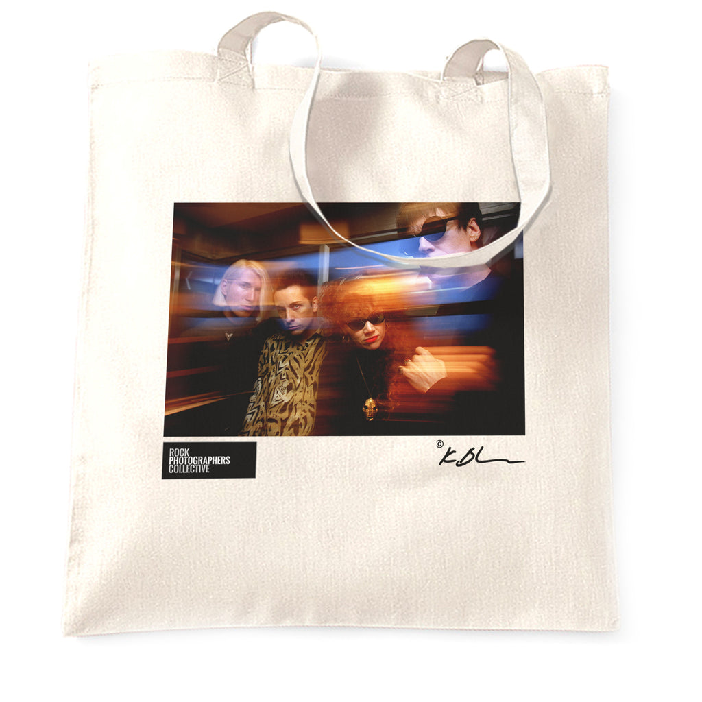The Cramps image with photographer's effects Tote Bag