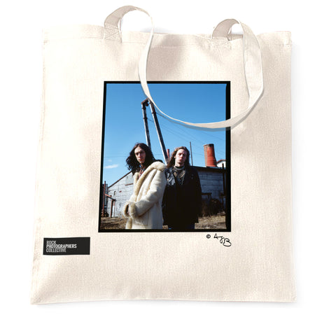 Black Crowes Tote Bag. Colour.