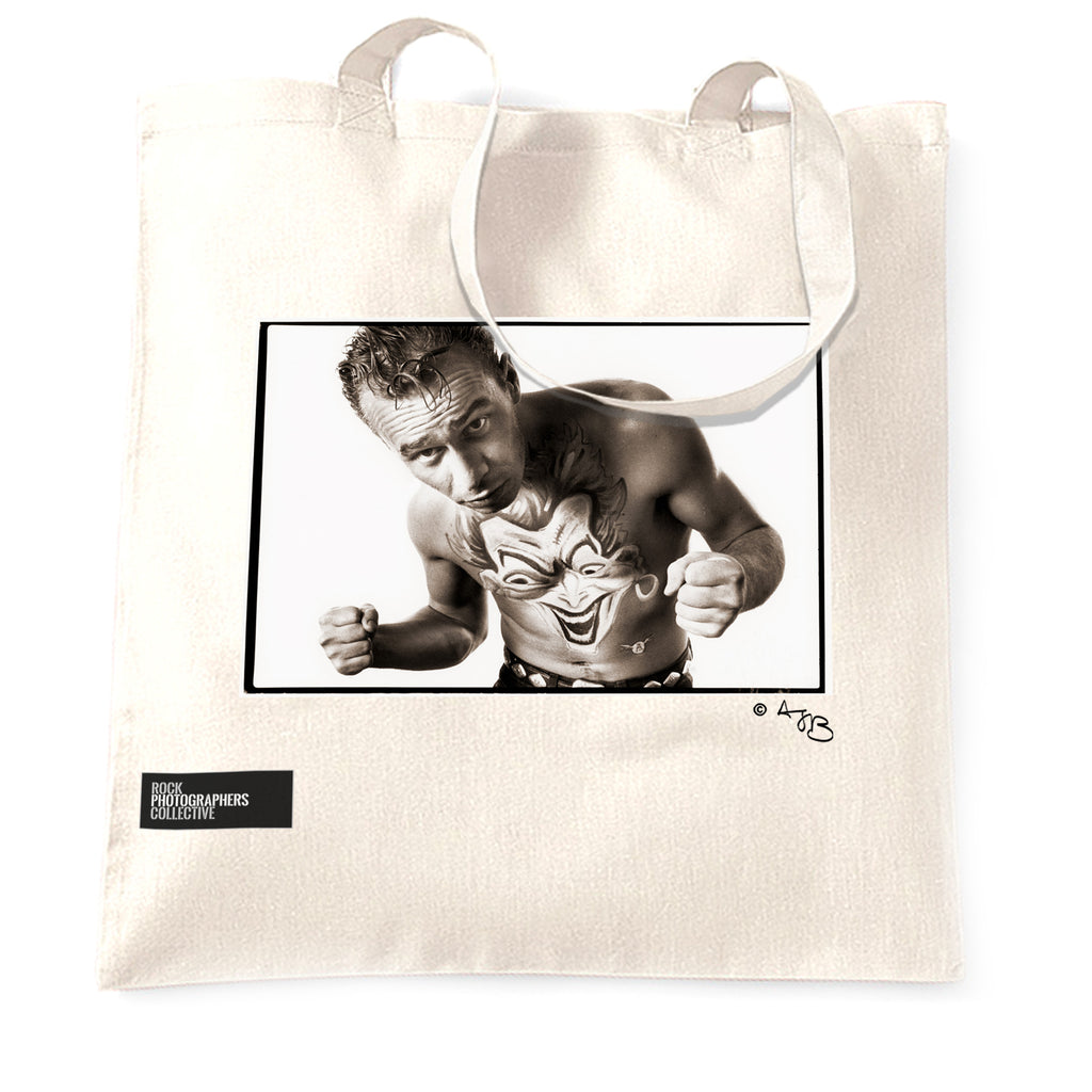 Matt Johnson Tote Bag Portrait (1), The The, Sepia