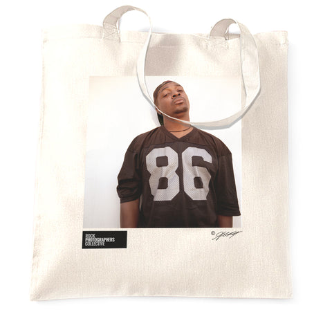 Chuck-D, London, 1997 (2) (AC) Tote Bag