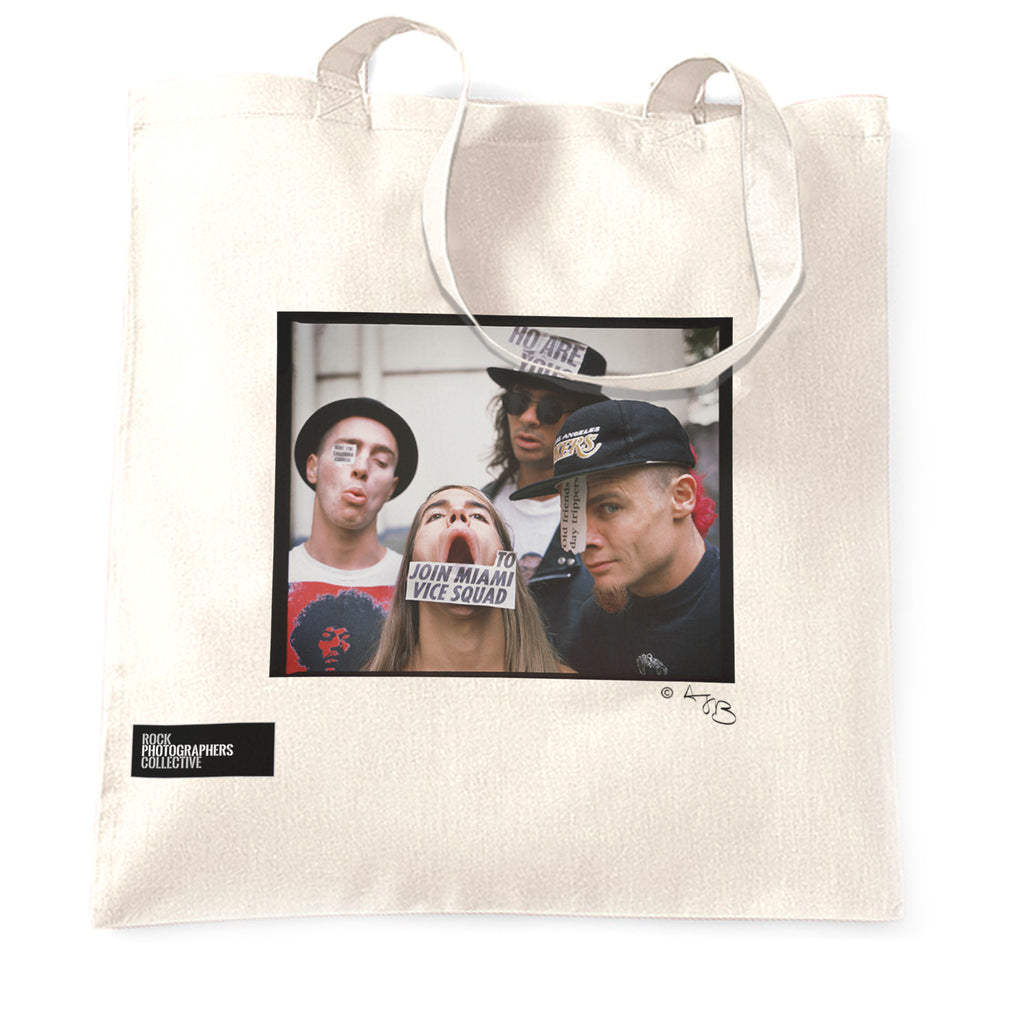 Red Hot Chili Peppers Location shoot - Tote Bag