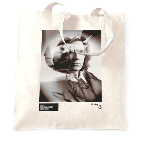 David Sylvian, Japan, (2) b&w portrait (AJB) Tote Bag