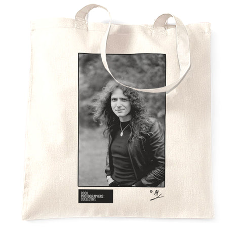 David Coverdale b&w location portrait AP Tote Bag