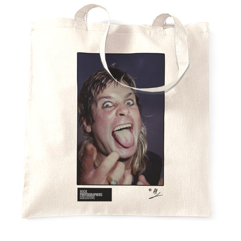 Ozzy Osbourne at Donnington 1984 Tote Bag