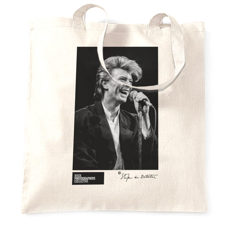 David Bowie, (6) 1987 (SdB) Tote Bag