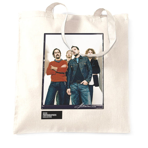 The Killers, group portrait, London 2006 MRW Tote Bag