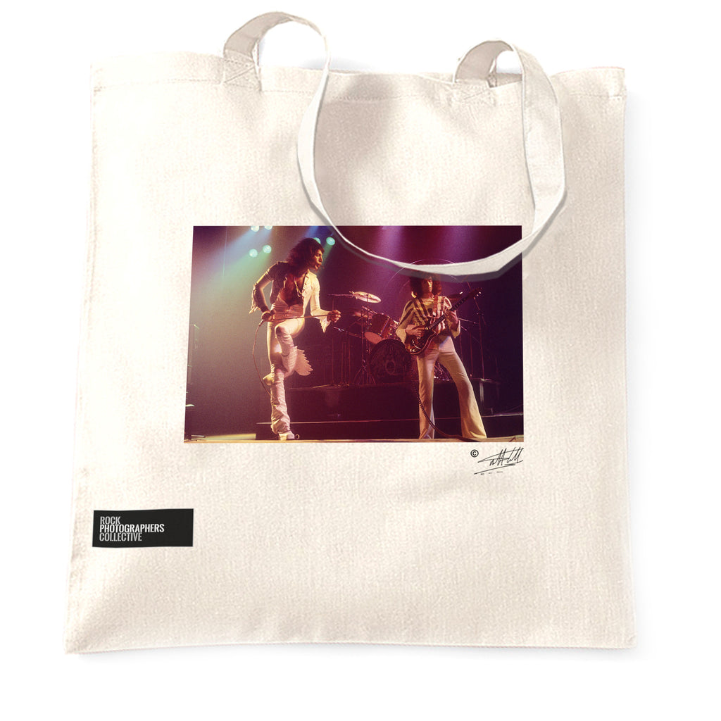 Queen - Freddie Mercury and Brian May Tote Bag.