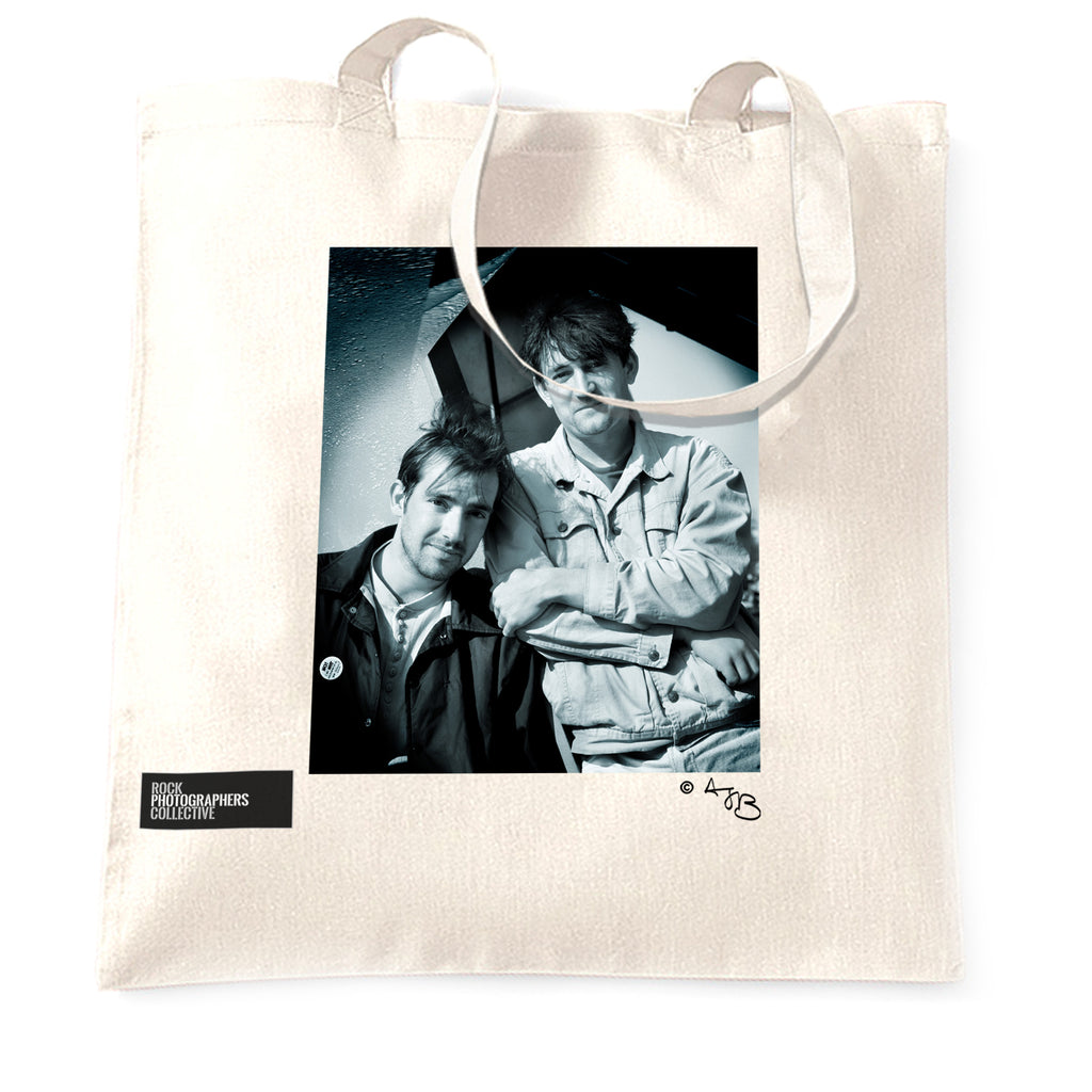 The Beautiful South Tote Bag. B&W.