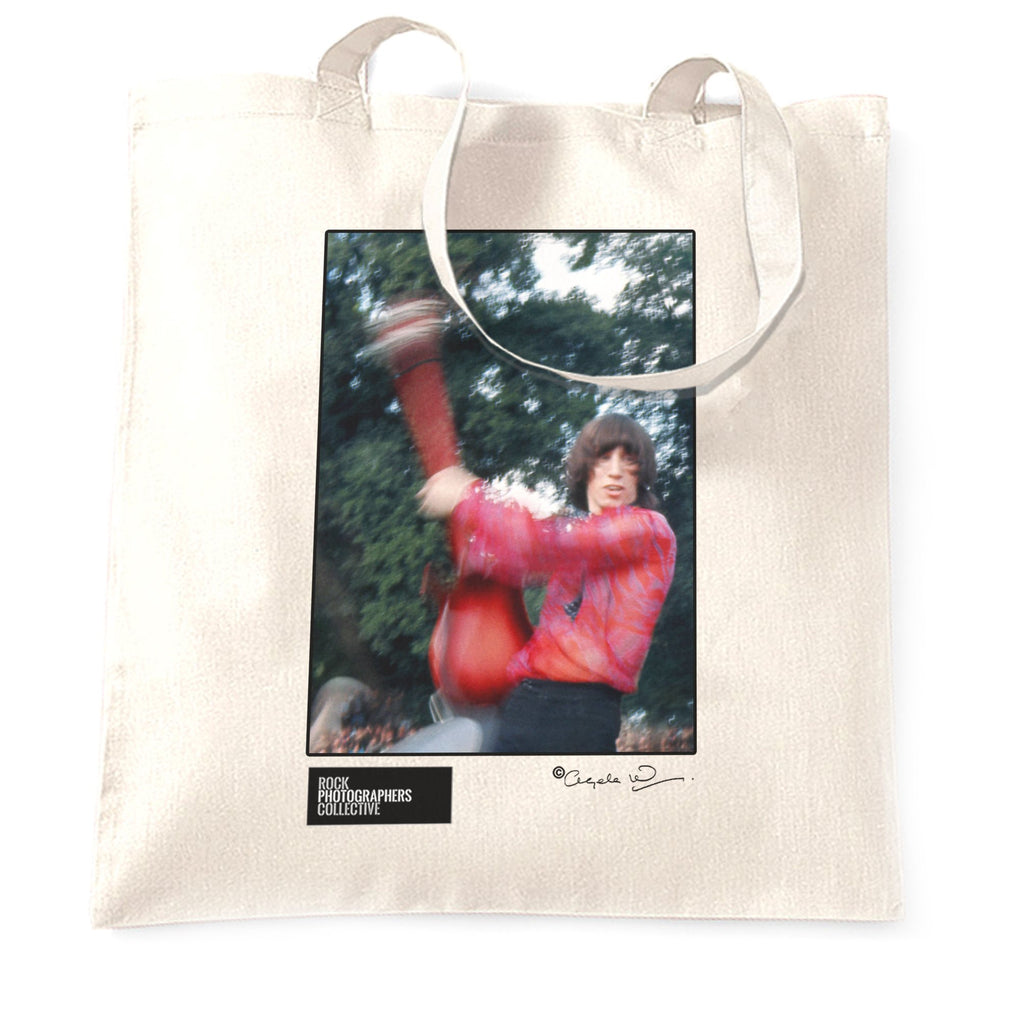 Roger Waters Pink Floyd, Hyde Park 1968 (AW) Tote Bag