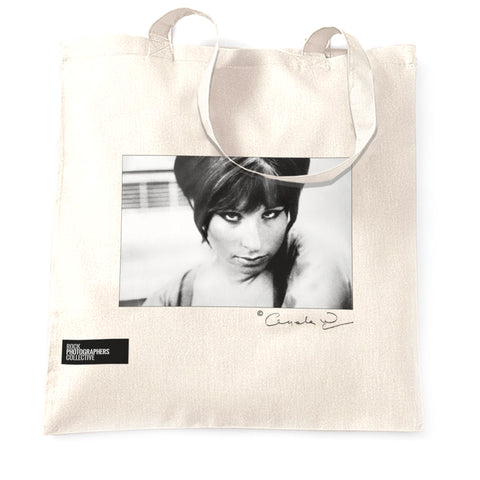 Barbra Streisand Rock Tote Bag