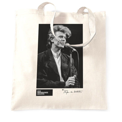 David Bowie, (5) 1987 (SdB) Tote Bag