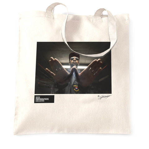 RZA, Wu-Tang Club, London, 2018 (AC) Tote Bag