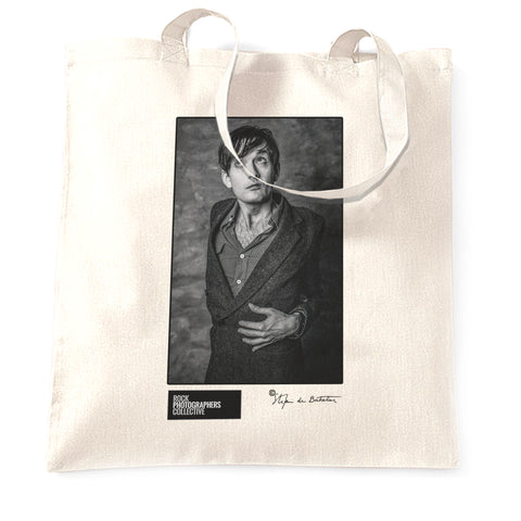 Jarvis Cocker, Pulp, Oslo, 1995 (SdB) Tote Bag