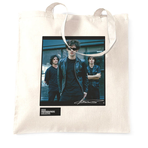 Black Rebel Motorcycle Club, 2003 (1) MRW Tote Bag