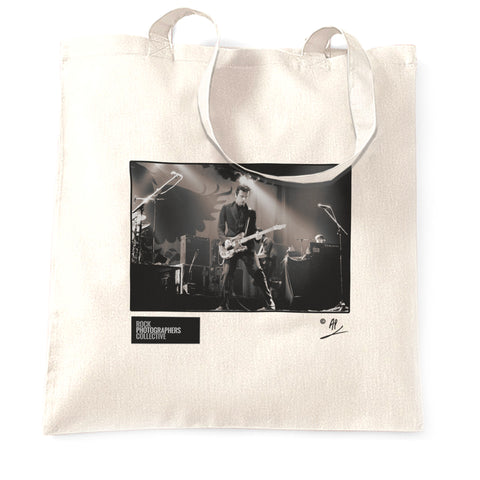 The Stranglers, Hugh Cornwell, live, 1980 AP Tote Bag