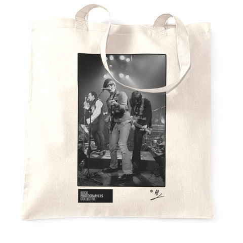 The Damned, Captain Sensible, live, 1981, AP Tote Bag